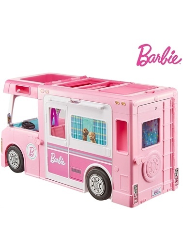 Barbie Ghl93 Barbie'Nin 3Ü1 Arada Rüya Karavanı Renkli
